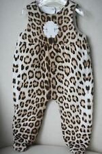 Roberto Cavalli Bebé Leopardo Relleno Pelele Babygrow 9 meses