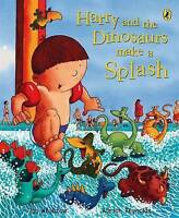 Harry and the Dinosaurs Make a Splash by Ian Whybrow, NEW Book, FREE & Fast Deli