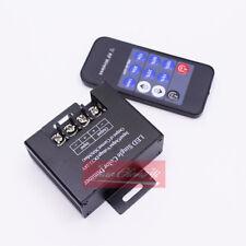 30A LED single Color Dimmer DC12-24V 11key RF Remote For 5050 5630 led strip
