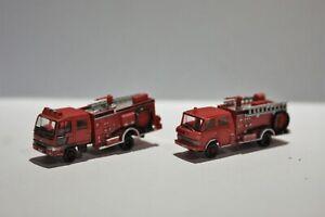 Tomytec N Gauge, Fire Engines.