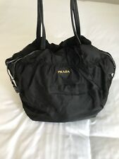 a9c24ec38523 Prada Nylon Logo Jacquard Purse Black/Nero *Authentic BR4229