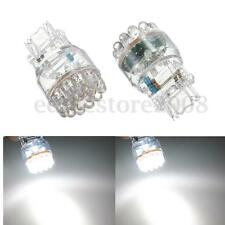 2x T25 3157 3057 24 LED Pure White Car Auto Tail Brake Signal Light Wedge Bulb