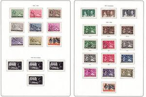 Nyasaland. 1934-44. SG 114-122 & SG 127-138. Used selection.