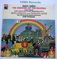 ASD 2753 - SAINT-SAENS - Carnival Of The Animals OGDON / LUCAS - Ex LP Record
