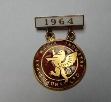 More details for  vintage 1964 radio industry exhibitions ltd enamel badge