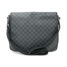 Authentic LOUIS VUITTON DAMIER GRAPHITE DANIEL GM n58033 #260-002-251-4127