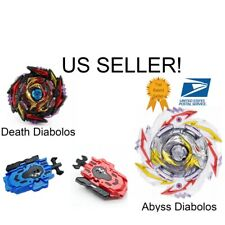 Beyblade Booster Burst Superking B-170 + 01 Death Diabolos 4Turn Merge 1D - US