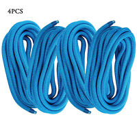 """2PCS 59/"""" Marine Boat Dock Anchor Lines Rope Stretch Nylon-Covered Bungee Tie"""