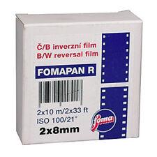 Foma Fomapan R 8mm Black and White Cine Film