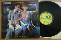 SCORPIONS LOVEDRIVE 1st PRESSING 1979 UK LP A1 B1 Harvest Records SHSP 4097 EX