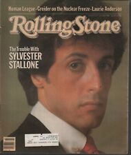 Rolling Stone Magazine Julio 8 1982 Sylvester Stallone 121219AME2