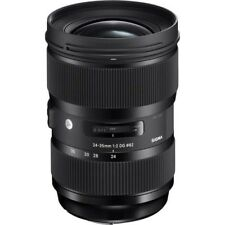 Sigma 24-35mm f/2 DG HSM Art Lens - Canon