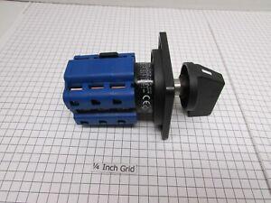 UPRGRADED OEM Bridgeport Forward/Reversing Switch, 3PH, PN 11598118 HD @ 30 AMPS