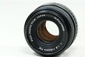 X Fujinon 50mm f1.9 Lens FUJINONX FILM MOUNT