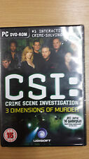 CSI: Crime Scene Investigation 3 Dimensions of Murder    PC DVD-ROM  Version