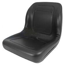 A Lgt100bl Black Vinyl Seat Fits Various Lawn Amp Garden Tractor Amp Utv