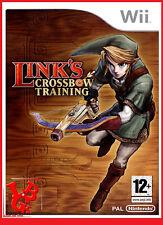LINK'S CROSSBOW TRAINING Wii Nintendo Jeux jeu Video compatible Wiiu Wii-U
