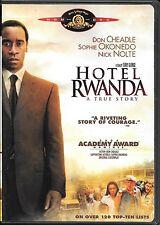 Hotel Rwanda (Dvd) Don Cheadle Sophie Okonedo Nick Nolte