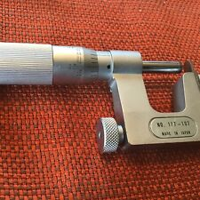 Mitutoyo Outside 0 1 Pin Micrometer Model No117 107