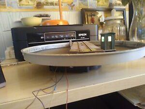 Piattaforma Girevole Artigianale In HO/1:87
