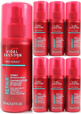 6 Vidal Sassoon Pro Series Repair & Finish Spray for Damaged Hair Lot VS