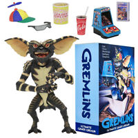 "NECA Gremlins Gamer Gremlin Ultimate 7"" Scale Action Figure Movie Collection"
