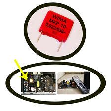 Kondensator 22nF 630V WIMA MKP10 Yamaha YSP Verstärker Netzteil Reparatur 1 Stk