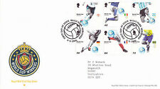 6 JUNE 2006 WORLD CUP WINNERS FOOTBALL ROYAL MAIL FIRST DAY COVER BALL PARK SHSa