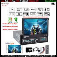 7''1DIN GPS Coche MP5+8gTF DVR EN Navegación FM/AUX/USB Radio Estéreo Bluetooth