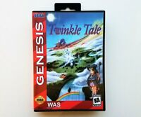 Twinkle Tale Game / Case - Sega Genesis English Translated Shooter SHMUP (USA)