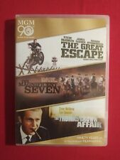 New listing The Great Escape/The Magnificent Seven/The Thomas Crown Affair (3 Disc Dvd,.
