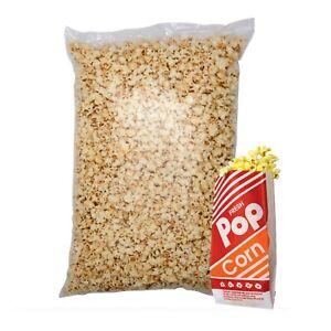 Party Size Ready Made Popcorn Sweet  1kg Cinema Movie + 50 Popcorn Bags