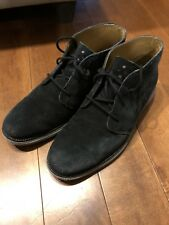 Cole Haan Lunar Grand Chukka Men Shoes Black and Grey Size 9.5M