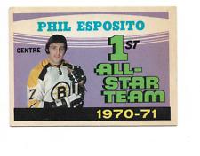 1971-72 O-Pee-Chee #253 Phil Esposito AS1 Boston Bruins ***
