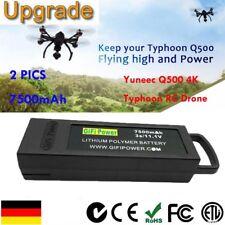 2 X 7500mAh 11.1V 3 s Flug Lipo-Akku für Yuneec Q500 4 K für Typhoon RC Drohne