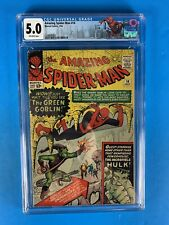 The Amazing Spider-Man #14 CGC 5.0 1964 (1st app of the Green Goblin)