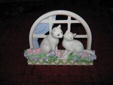 Lenox Love In Bloom Porcelain Cats Figurine-MINT!