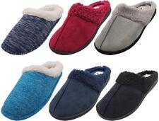 Norty Women's Slip-On Memory Foam Clog Slippers Shoe - Faux Suede or Fleece