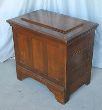 Antique Wood Ice Chest or Box - A Kalamazoo Direct to You – only 27 inches heigh