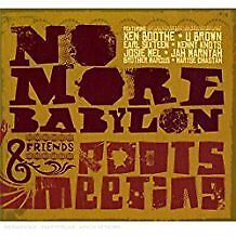 NO MORE BABYLON - Roots Meeting - CD Album