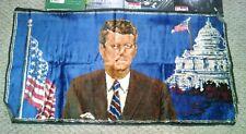 Rare Vintage President John F Kennedy (JFK) Tapestry Wall Hanging 37x19