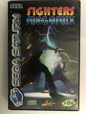 Fighters Megamix | Sega Saturn Spiel | mit OVP und Anleitung