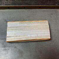 16p Ausschluss - NEU - Bleisatz Blindmaterial Buchdruck non-printing material