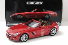 1:18 Minichamps Mercedes SLS AMG Roadster red 2011 NEW bei PREMIUM-MODELCARS