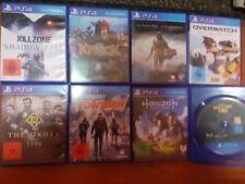Playstation 4 Spielesammlung 8 Stück