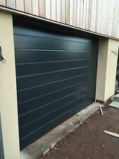 EBAY DEAL ONLY RIBBED SECTIONAL GARAGE DOOR FREE COLOUR CHOICE FREE MOTOR 40mm
