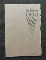 """1913 SOUTHERN PACIFIC RAILROAD RAILWAY """"San Francisco, Why?"""" AACA ADVER BROCHURE"""