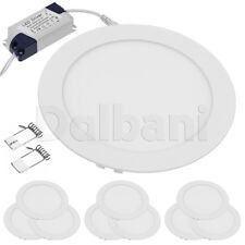 10pcs $5.25ea 12W 3000K Warm White Round Recessed LED Panel Light Ceiling Down