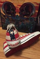 Vintage CONVERSE ALL STAR US Flag Sneaker Low Top Shoes. Size US Men's 8