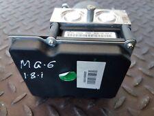 MG MG6 TSE GT TURBO 1.8 TCI PETROL MANUAL 2013 ABS PUMP 30046890 / 0265251579